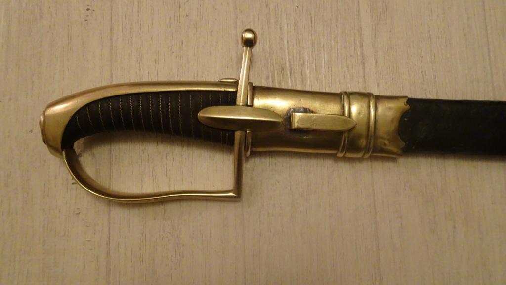 Mon sabre de chasseur à cheval de la garde Dsc01916