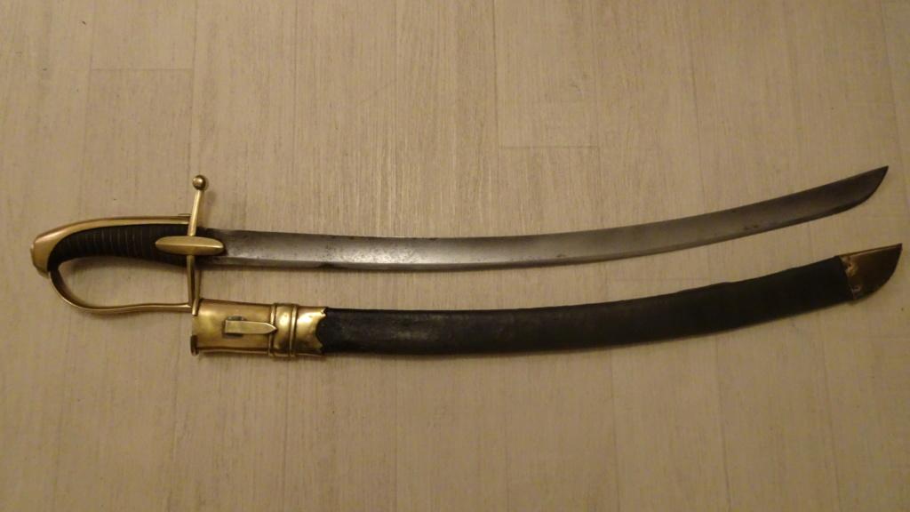 Mon sabre de chasseur à cheval de la garde Dsc01917