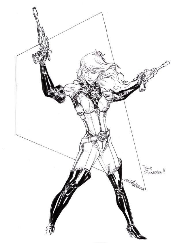 Ma collection de sketchs et commissions sur les animes des années 80 - Page 3 Captai11