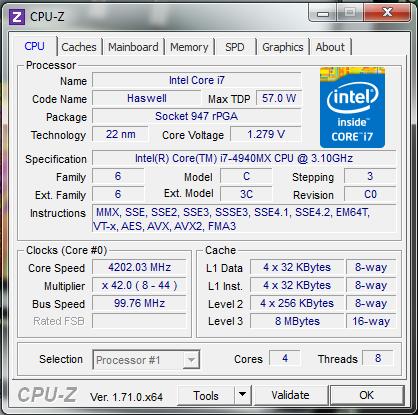 Komodo 9.3 64-bit 4CPU Gauntlet 40/40 Haswel12