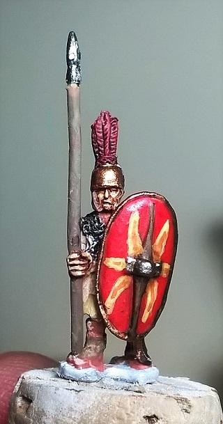 Petit clin d'oeuil romain juste avant la nouvelle an pour mon projet HC en 15mm Wp_20110