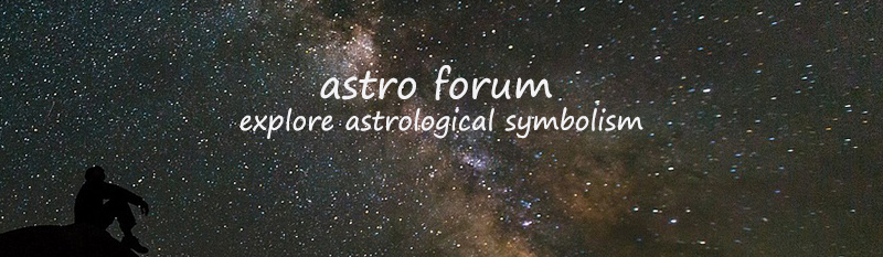 Astro forum - explore astrological symbolism