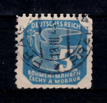 Zeitungsmarken Böhmen & Mähren Byhmen11