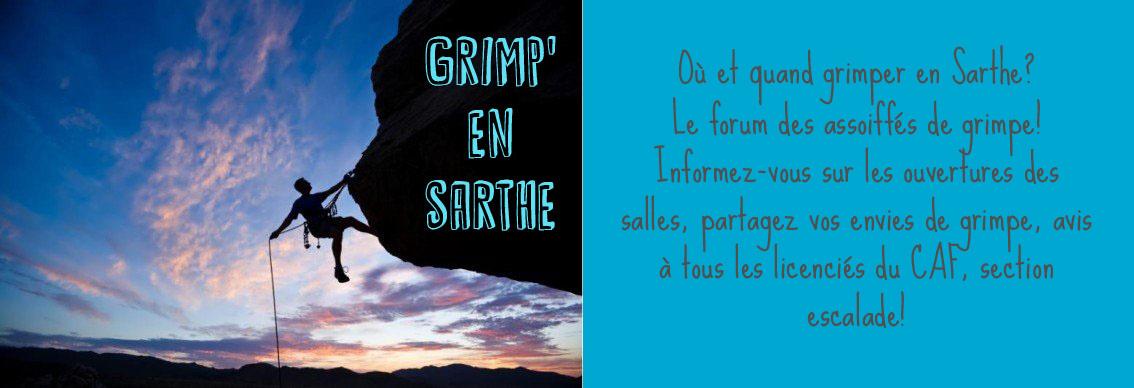 Grimp' en Sarthe