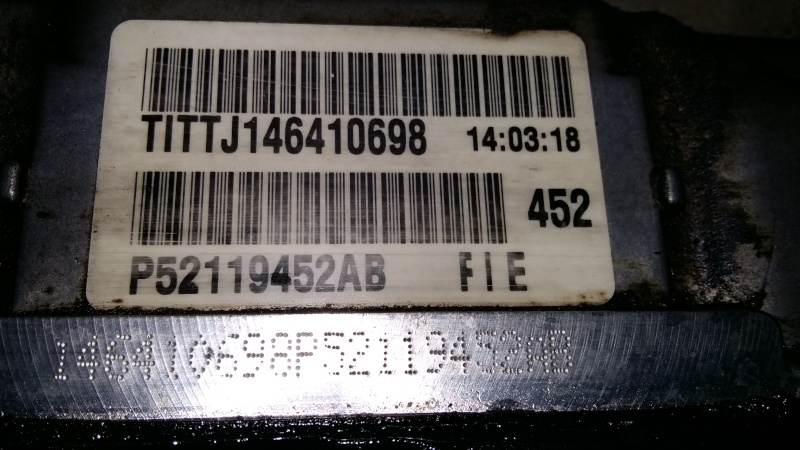 code erreur P0700
