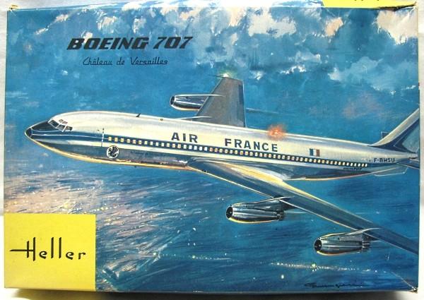 Boeing 707 1/125e 196810