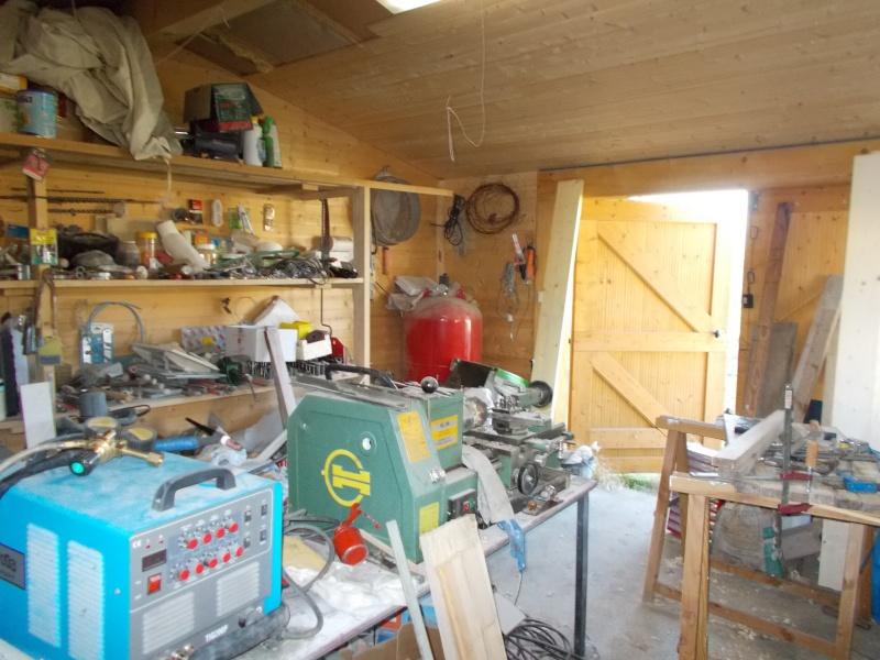 Mon/mes atelier et diverses réalisations (affutage foret au drill doctor) Dscn0015