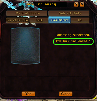 [GUIDE] Luck Compose (AdvPet and donation pet) Luck610