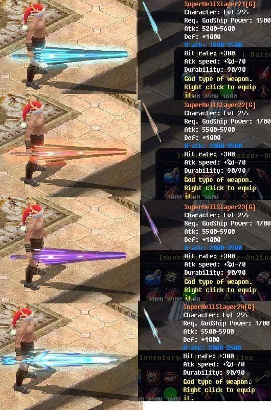 [FEATURE] Godship Weapon Design*Sword&Claw (Dragon Legacy) War15010