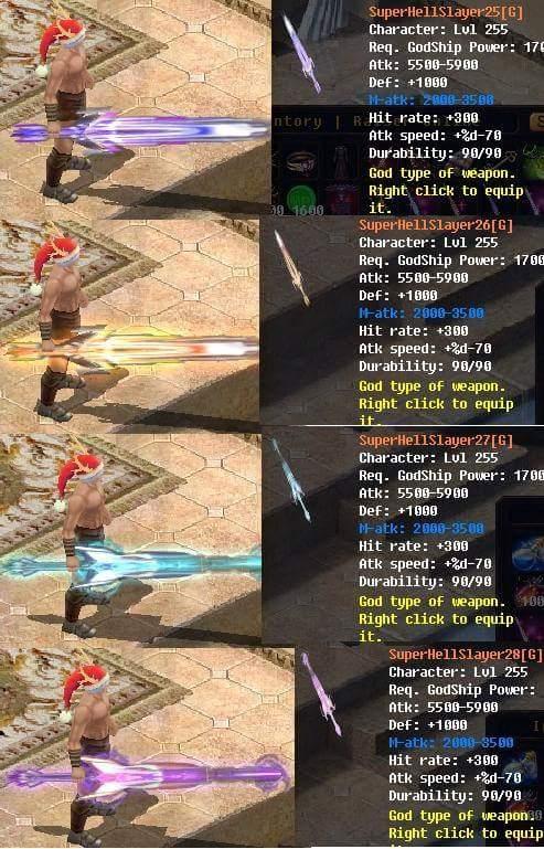 [FEATURE] Godship Weapon Design*Sword&Claw (Dragon Legacy) War17010