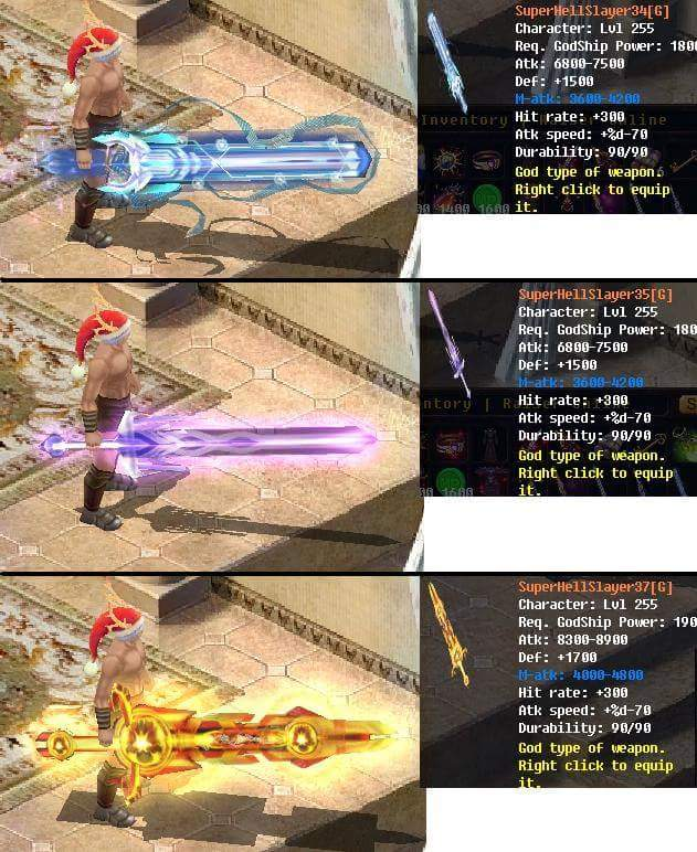 [FEATURE] Godship Weapon Design*Sword&Claw (Dragon Legacy) War18011
