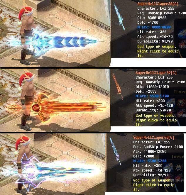 [FEATURE] Godship Weapon Design*Sword&Claw (Dragon Legacy) War19010