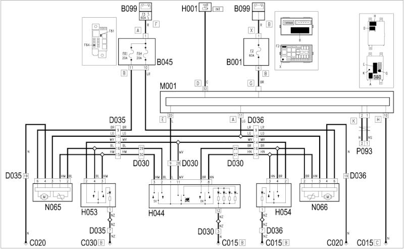 Immagine ospitata<br />Eccoti lo schema di collegamento per gli alzavetri posteriori elettrici, se hai dubbi chiedi pure</div></div></div><div class=