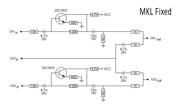 "WIP - PCB ""Neogeo MVS Stereo signals mix with amp (MKL base)"" 2v9vzb10"