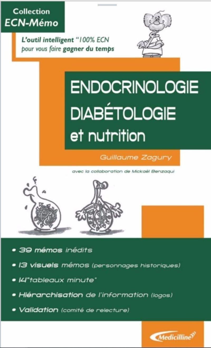 ECN Memo - Endocrinologie diabétologie nutrition Captur10