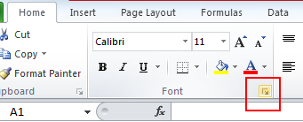 Where To Get The Advanced Font Setting??  2010