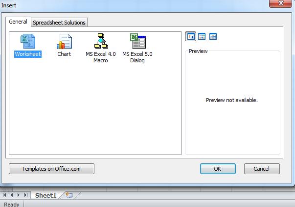 Insert An Sheet In Microsoft Excel 210