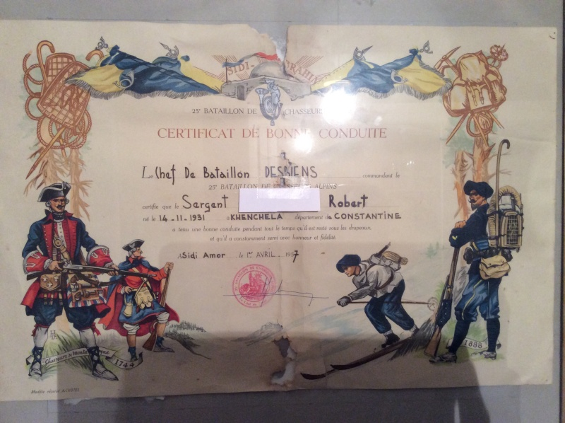 Magnifique certificat de bonne conduite  Image25