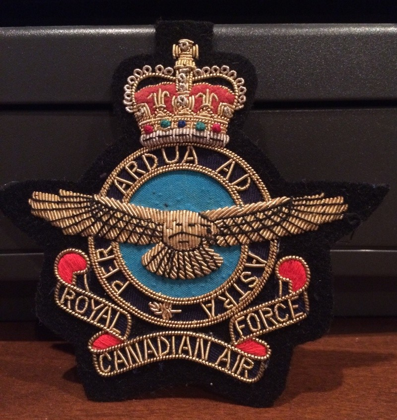 RCAF patches Img_4410