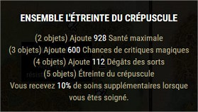 Les sets craftables Etrein10