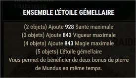 Les sets craftables Gemell10