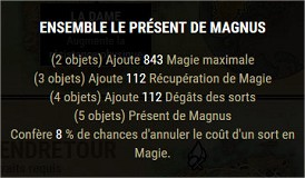 Les sets craftables Magnus10