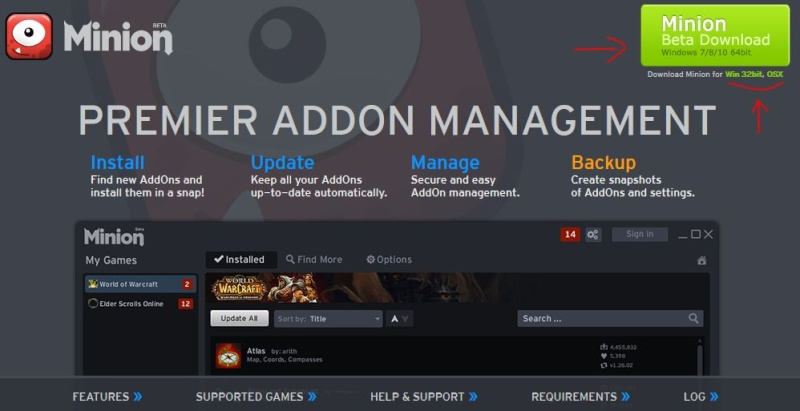 Installer un AddOn sur tESO Minion14