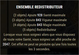 Les sets craftables Redist10