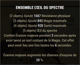 Les sets craftables Spectr10