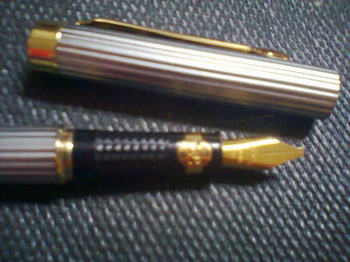 je vend stylo plume anglais grande marque et rare Photo025