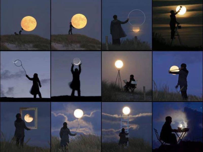 Transparent/Translucent Moon 374010