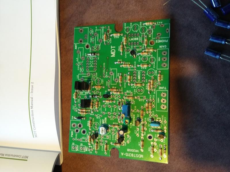 KIT émetteur récepteur QRP phonie 40m ( ozQRP ) 20151212