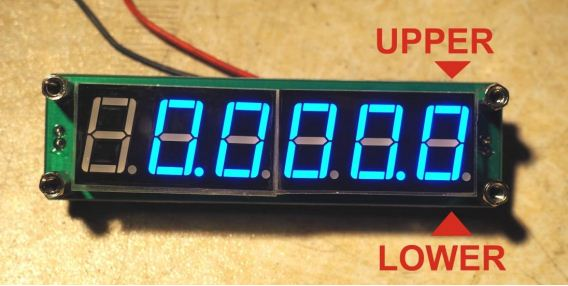 Fréquencemètre low cost Captur14