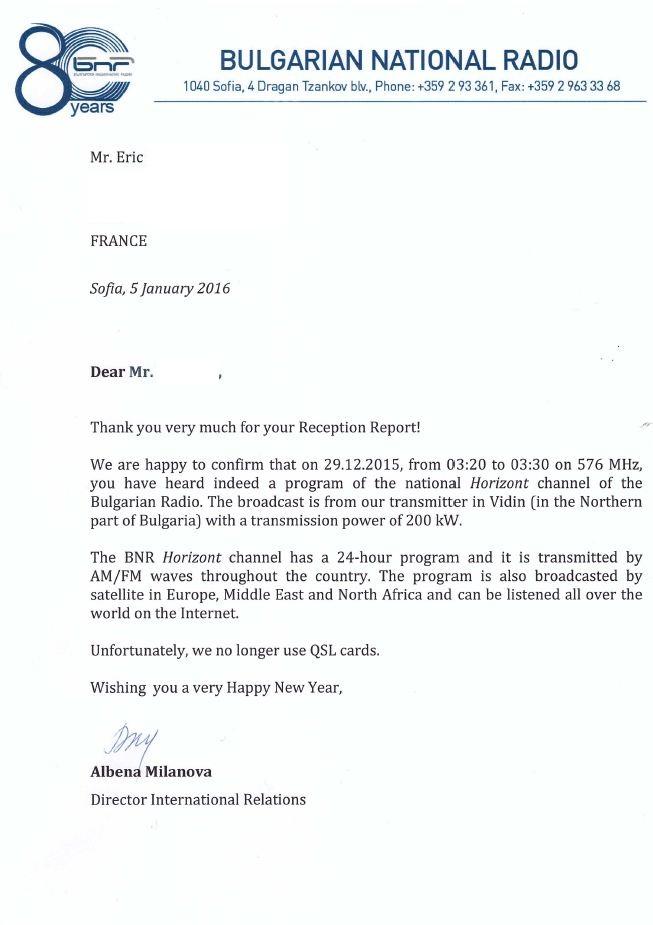 Lettre QSL de BNR en MW Bnr_ho10