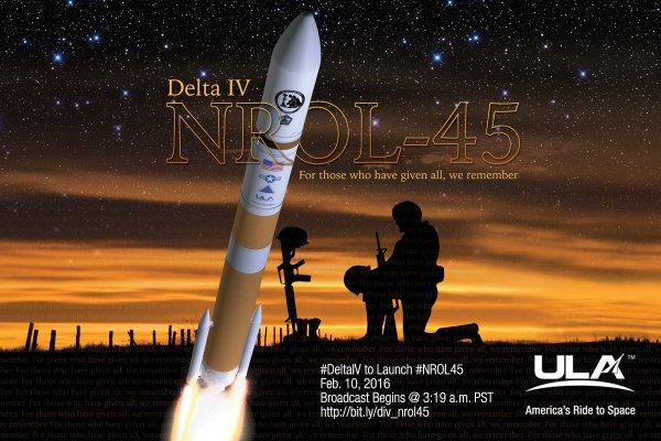 Lancement Delta-4M+(5,2) / NROL-45 / VAFB - 10 février 2016 [succès] 137