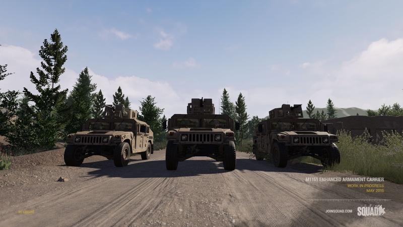Zoom sur les véhicules Humvee10