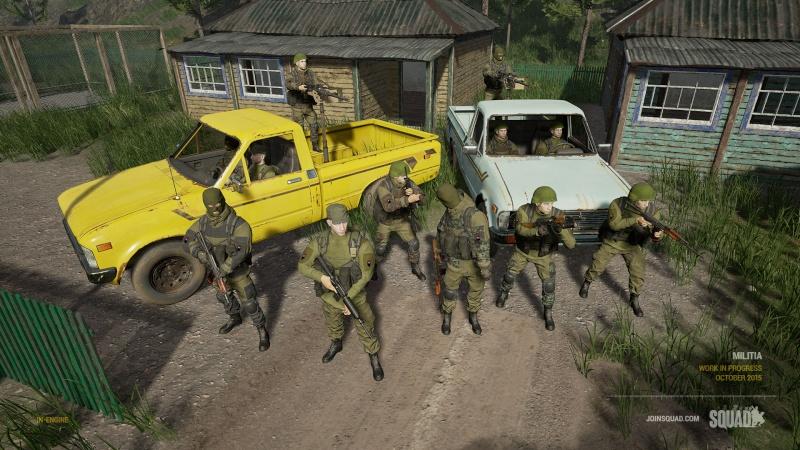 Zoom sur les véhicules Militi10