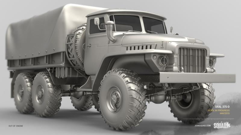 Zoom sur les véhicules Ural-110