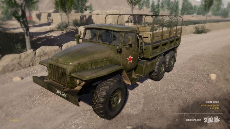 Zoom sur les véhicules Ural_110