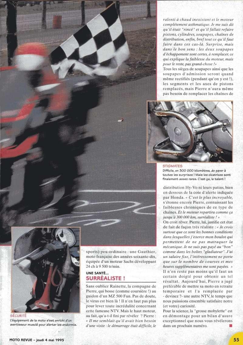 300000km en NTV Motorevue du 4 Mai 1995 Motore14