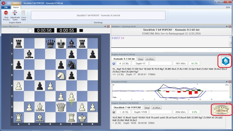 How To Display Chess Logo on Fritz Interface Untitl12