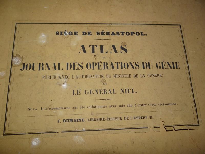 Atlas complet du siège de Sébastopol 1858 Dsc06712