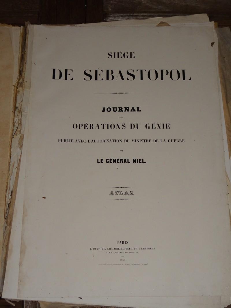 Atlas complet du siège de Sébastopol 1858 Dsc06713