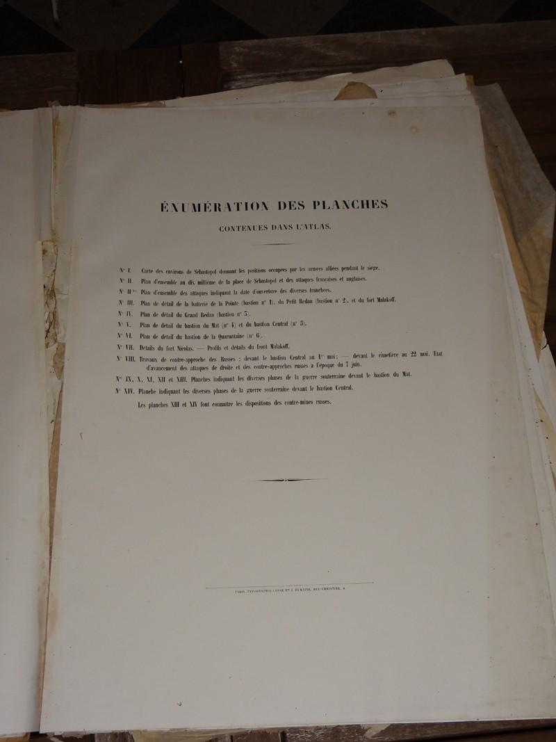 Atlas complet du siège de Sébastopol 1858 Dsc06714