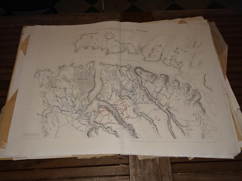 Atlas complet du siège de Sébastopol 1858 Dsc06715