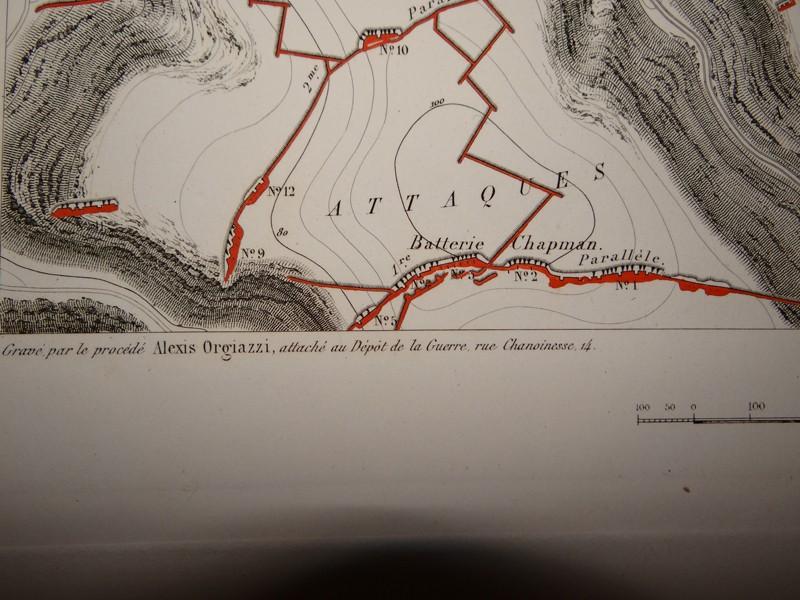 Atlas complet du siège de Sébastopol 1858 Dsc06717