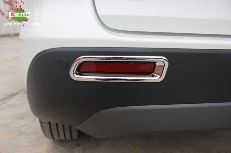 Fog Lamp Cover Abs - Chrome 110