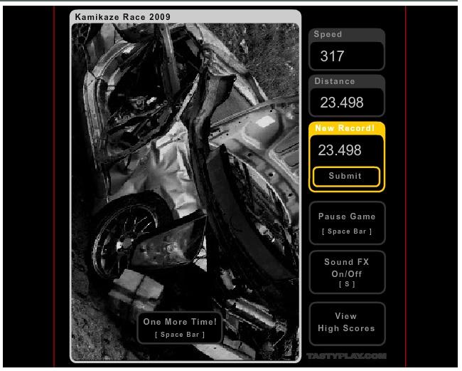 Game - Kamikaze Race 2408013