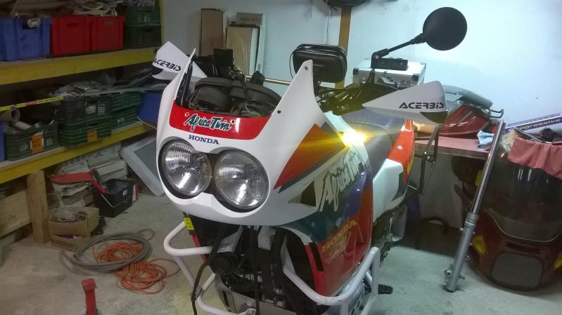 Qu'avez vous fait à votre moto aujourd'hui ? - Page 2 Wp_20122