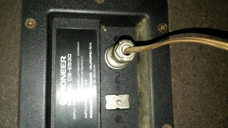 Collegamento casse Pioneer E530 ad amplificatore DV100Z 20160112